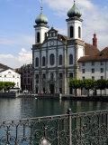 Jesuit Church  Luzern  Switzerland  Europe