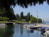 Marina  Quai Baron De Blonay  Evian-Les Bains  Lake Geneva  Haute-Savoie  France