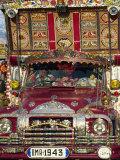 Decorated Lorry  Gilgit  Pakistan