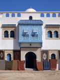 Typical Decorative Window in a Carpet Shop in the Medina  Tunisia  North Africa  Africa