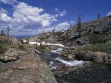 Long Lake Near Mount Elwell  Basin Lakes Area  Northern California  USA