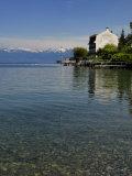 Lakeside Hotel  Lac Leman  Evian-Les Bains  Haute-Savoie  France  Europe