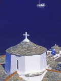 Church on Skopelos Island  Greek Islands  Greece  Europe