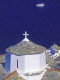 Church on Skopelos Island  Greek Islands  Greece  Europe