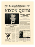 Nixon Quits