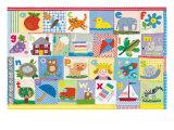 L'alphabet Giclée premium par Claire Beaton