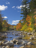 Swift River  White Mountains National Forest  New Hampshire  New England  USA