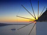 Sunset in Oia  Santorini  Cyclades  Greek Islands  Greece  Europe