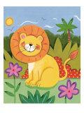 Baby Lion Giclée premium par Sophie Harding
