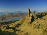 Old Man of Storr  Trotternish  Isle of Skye  Highland Region  Scotland  United Kingdom  Europe