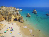 Beach at Lagos  Algarve  Portugal  Europe