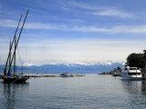 Port Des Mouettes  Lac Leman  Evian-Les Bains  Haute-Savoie  France  Europe