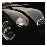 Jaguar C-Type Reproduction d'art par Retro Classics