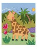 Baby Giraffe Giclée premium par Sophie Harding