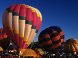 Hot Air Ballooning  Albuquerque  New Mexico  USA