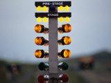 Drag Racing Starting Christmas Lights