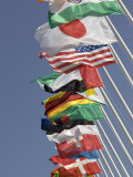 Flags of the Nations  Athens  Greece