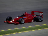 Formula Atlantic Racing Car Action