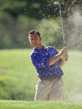 Male Golfer in Action