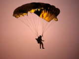 Sky Diver Floating in the Air