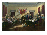 Signing the Declaration of Independence  28th June 1776