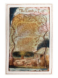 A page from &#39;Songs of Innocence&#39; designed and written by William Blake