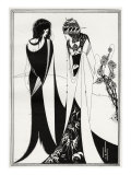 John and Salome &#39; - Aubrey Beardsley &#39;s illustration for &#39;salome &#39; by Oscar Wilde