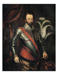 Sir Walter Raleigh - portrait of the English soldier  explorer  courtier and writer 1552-1618
