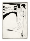Salome' Aubrey Beardsley 's illustration for play by Oscar Wilde