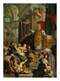 Glory of St Ignatius of Loyola (1616) by Ruben  Founder of the Jesuit order