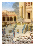 The dedication of the Temple in Jerusalem built by King Solomon  2 Chronicles 5: 12 -13
