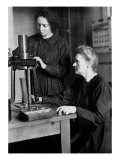Marie Curie and her daughter Irene  1925