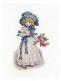 Taking in the roses by Kate Greenaway