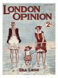 London Opinion - magazine cover 22 August 1925