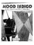 Mood Indigo Score Cover by Duke Ellington  Irving Mills and Albany Bigard