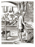 Tailor in his workshop  16th century