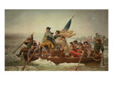Washington Crossing the Delaware  after a painting by Emanuel Leutze  1851