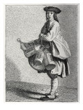 Daily life in French history: a lantern seller in 18th century Paris  France