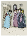 Sense and Sensibility by Jane Austen - Marianne coming hastily out of the parlour