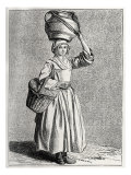 Daily life in French history: a milkmaid in 18th century Paris  France