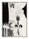 ' The Eyes of Herod ' - Aubrey Beardsley 's illustration for 'salome ' by Oscar Wilde