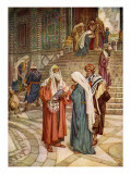 Simeon the righteous  the presentation of Jesus at the temple  Luke II  22-32