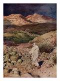 The temptation of Jesus  Matthew IV  32-34