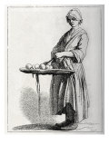 Daily life in French history: a fruit seller in 18th century Paris  France