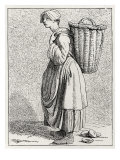 Daily life in French history: an oyster-seller in 18th century Paris  France