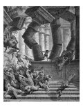 The death of Samson  Judges XVI  30