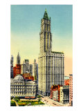 Woolworth Building  New York City  1920s