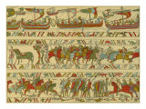 Bayeux tapestry  Norman attack on England