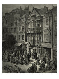 Victorian London - Bishopsgate street  East of London