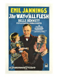 The Way of All Flesh  1927